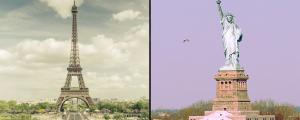 Paris et New York ne sont pas si différentes